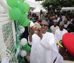 #NigeriaAt56 : President Buhari, VP Osibanjo, Other Dignitaries Participate In Independence Anniversary Programme (Photos)