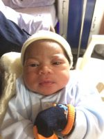 Independence Baby! Blog Reader Lionheart Welcomes Baby Boy(Photos)
