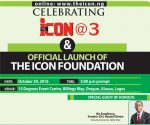 The ICON Celebrates At 3, Launches Foundation