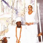 You Are The Sugar In My Tea! Olori Wuraola As She Wishes Husband Ooni Of Ife Happy Birthday