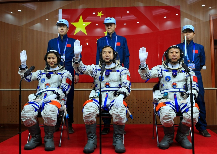 China Launches Mission To Space To Test Run State-Of-The-Art Research Center In Orbit
