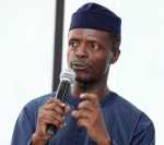 Must Watch! Ag. President, Yemi Osinbajo And Klint da Drunk Engage In Hilarious Banter Of Words