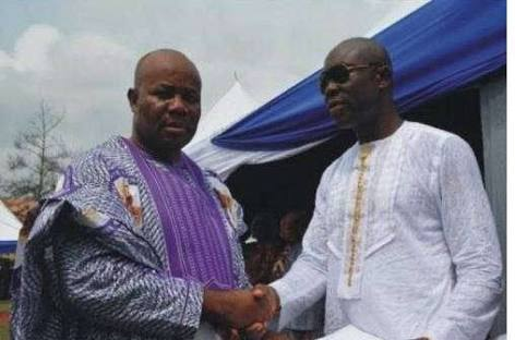 EX-Akwa Ibom State Governor, Godswill Akpabio's Brother Arrested On Charges Of Embezzlement Of Funds