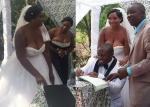 OMG! SEE What This Bride Wore To Her Wedding!!!