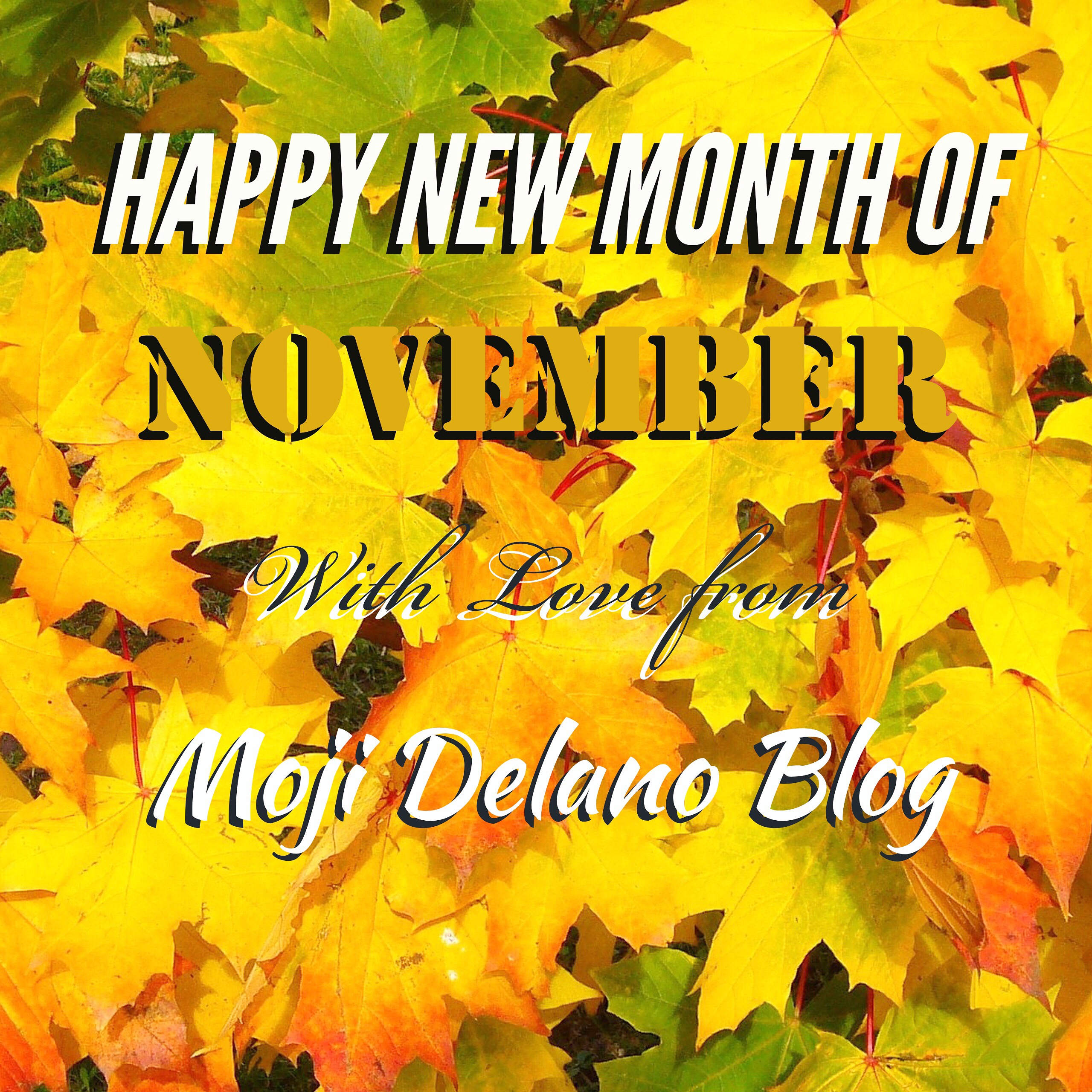 Happy November Everyone!!!