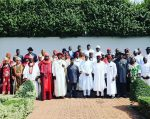 Photo Speak President Buhari Meets With Niger Delta Leaders