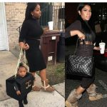 Lmao! This Woman Dressed Up Her Daughter  Up As Nicki Minajs Chanel Bag For Halloween