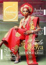 Sade Okoya Covers Wedding Planner Magazine's First E-Edition