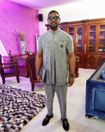Sunday Vibes: Pastor Biodun Fatoyinbo Of COZA Rocking An Outfit By Mudi