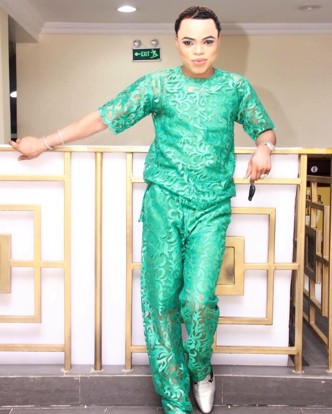 Nigerian Male Barbie Doll Bobrisky Reportedly H.I.V Positive
