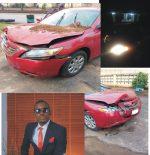Tito Da.Fire Involved In Car Crash…Escapes Death By The Whisker