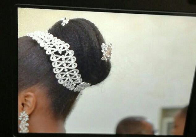 Anything Wrong With Her Hairstyle? MFM Church Officials Force Bride To Cut Off Natural Hair On Wedding Day( Photo Inside)