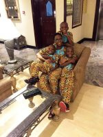 Photo: Renown Blogger Laila Ijeoma Of Laila's Blog Celebrates 8th Wedding Anniversary