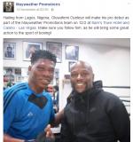 Floyd Mayweather Signs Nigerian Boxer Olufemi Oyeleye