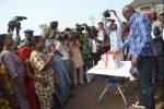 Photo Speak: Ekiti Governor Ayo Fayose Celebrates Birthday With Market Women, Others