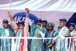 More Photos: President Buhari Attends APC Mega Rally In Ondo To Show Support For Rotimi Akeredolu(Aketi)