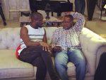 Photos:Peter Okoye Of Psquare Entertains Aliko Dangote In New Banana Island Home