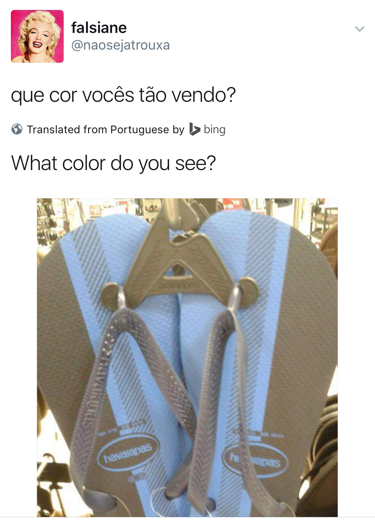 Black and blue or white and gold dress illusion