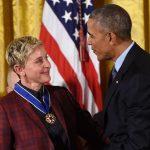 President Obama Awards Comedienne EllenDegeneres Presidential Medal of Freedom, America's Highest Civilian Honor
