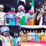 Aisha Buhari Visits Oba Akiolu, Flags Off Women Empowermenf Program In Lagos State