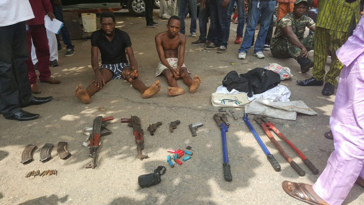 Lagos Police Arrest Two Armed Robber That Attacked Basket Mouth
