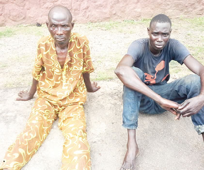 Man Arrested In Ogun State For Killing And Butchering Daughter For Ritual Purposes