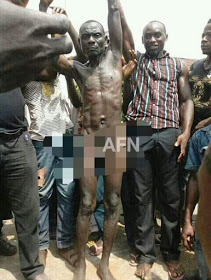 Man Disgraced Publicly For Raping And Killing Virgin In Abia State