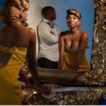 See First Pictures From Stephanie Coker's Traditional Engagememt To Daniel Adenirokun.