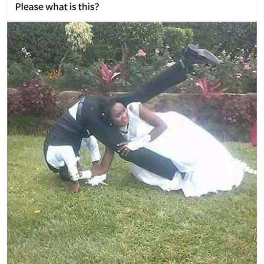 What's Wrong With This Wedding Photo?