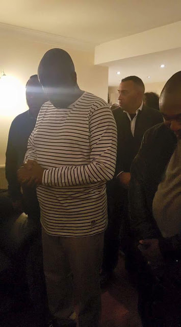 Photos From James Ibori's Prayer Session After His Release In London