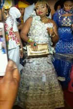 Woman Becomes Internet Sensation For Wearing 'Dollar Dress' At Event(Photos)