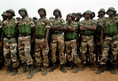 Troops Intercepts Female Suicide Bombers With Explosives On Way To Their Mission