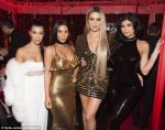 FABULOUS!!! The Kardashian Family Celebrate Christmas With A Grand Party (PHOTOS INSIDE)