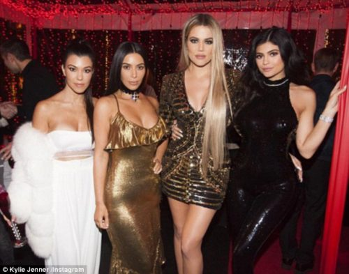 FABULOUS!!! The Kardashian Family Celebrate Christmas With A Grand Party (PHOTOS INSIDE)