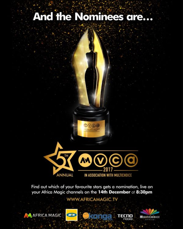 AMVCA 2017 Nominee List is Out! Kunle Afolayan, Funke Akindele, Omoni Oboli, Uche Jombo & More Make The Star-Studded List