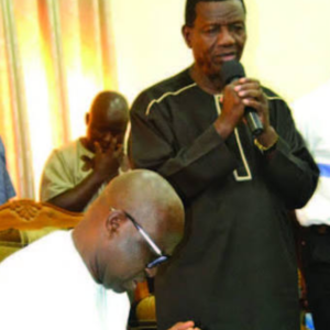 APC Slams Pastor Adeboye, Accuses Him Of Taking Bribe From Ayodele Fayose