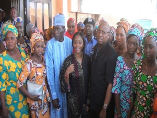 See 'Priceless' Smiles As Rescued Chibok Girls Finally Return Home To Families For First Proper Christmas In Years