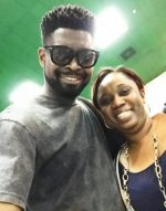 Eyahh!!! Basketmouth Meets The Woman Who First Paid Him N800 To Perform Way Back