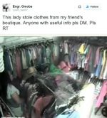 OMG!!! CCTV Captures Woman Shoplifting In Lagos Red-handed (PHOTOS INSIDE)