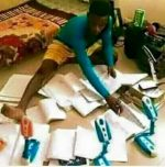 What Subhect Do You Think This Guy Is Studying In The University?
