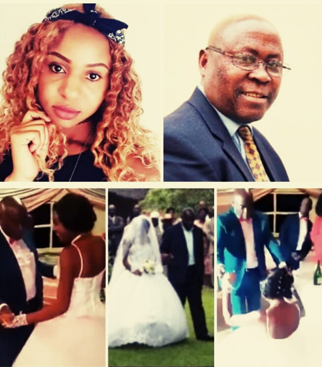 WTF!!! See The 70- Year Old Zimbabwean Minister Weds His 23-Year Old Girlfriend (PHOTOS INSIDE)