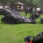 Check Out Donald Duke's Bad A** Batman Themed Bike!!!