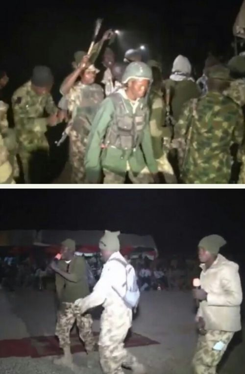 NICE!!! Soldiers Organize Dance And Rap Battle Competition In Borno(PHOTOS INSIDE)