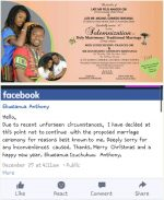CHEATERS!!! Man Calls Off Wedding After He Catches His Bride-To-Be Cheating Days Before The Event