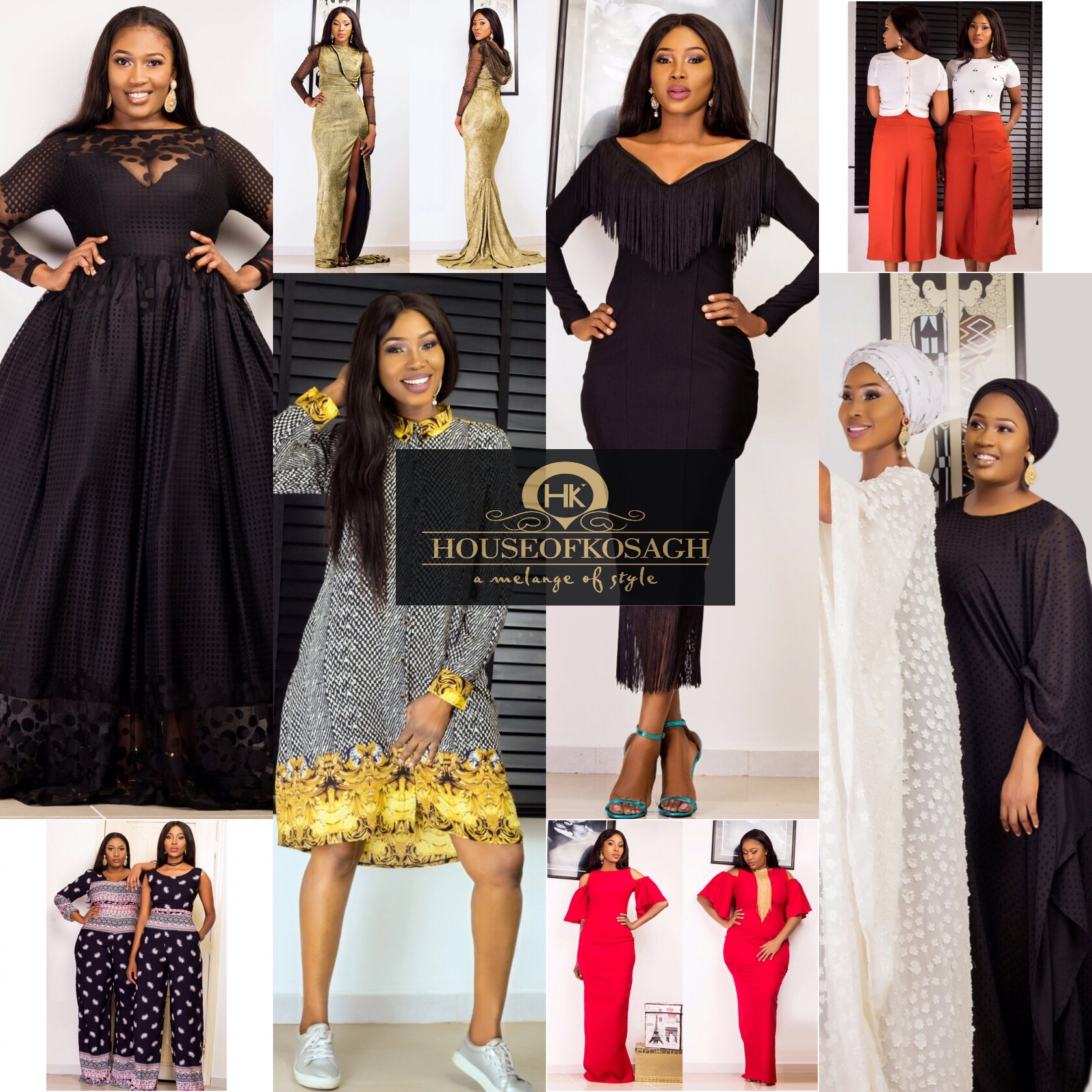 Top Nigerian Fashion Label House Of Kosagh Launches It SS17 Collection-THE POWER WOMAN