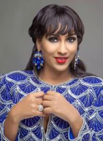 Delectable Thespian, Juliet Ibrahim Oozes Sex Appeal In New Christmas-themed Photos