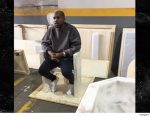 Kanye West Makes First Hospital Appearance Since Psychotic Breakdown, Debuts New Hairdo