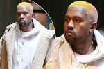 Kanye West Debuts New Pink And Blonde Ombrè Hair As He Heads To Cinema Solo
