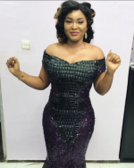 Mercy Aigbe Serves It Hot! Check Out Her Almost-Flawless Outfit To The Lagos Fashion Awards
