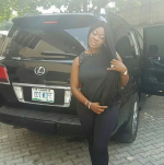 New Whip Alert! See Mercy Johnson's Newly Acquired Lexus SUV With Customized Plate Numbers